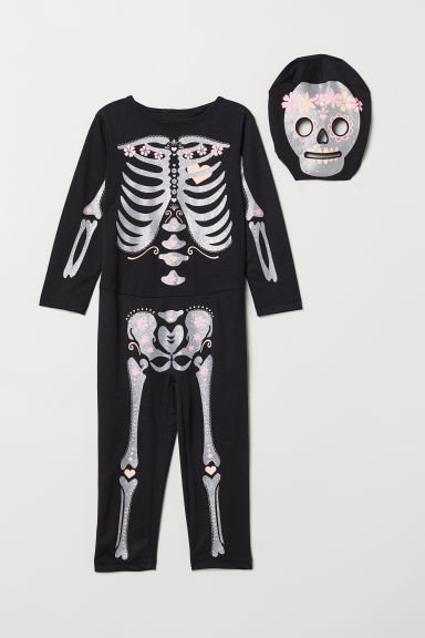 f46016194e6 Fancy dress costume - Black Skeleton - Kids