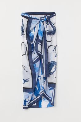 69e5622aede Silk-blend Sarong