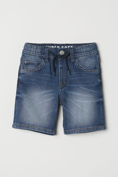 Vaqueros cortos Super Soft - Azul denim -  | H&M ES