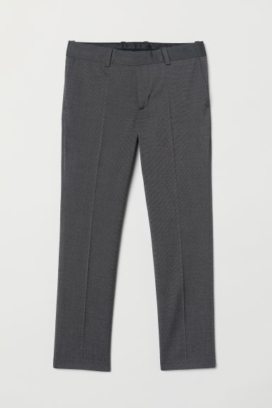 Suit trousers - Dark grey -  | H&M