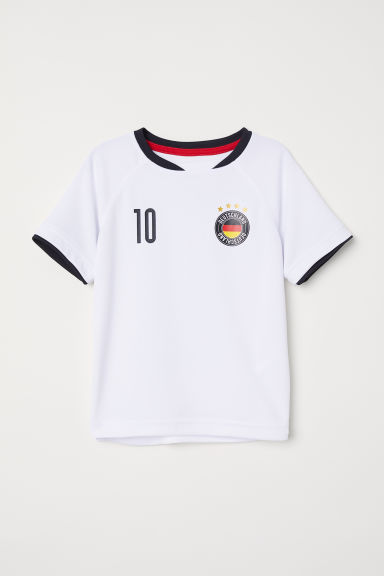 Football shirt - White/Deutschland - Kids | H&M