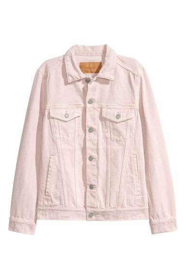 Denim jacket - Powder pink -  | H&M