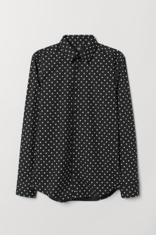 Spotted shirt Slim Fit