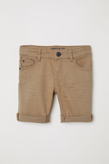 Knee-length twill shorts - Light mole - Kids | H&M CN