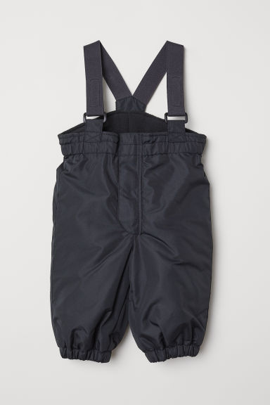 Outdoor trousers with braces - Black - Kids | H&M