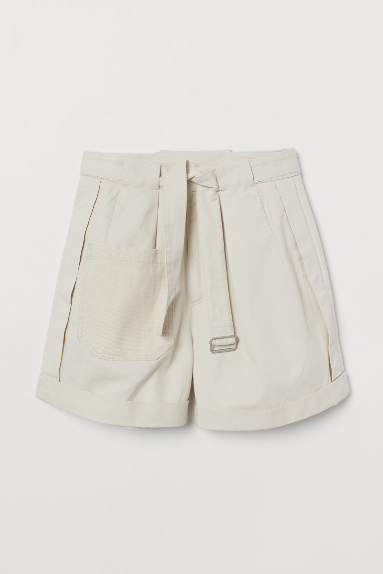 Cargo shorts - Light khaki beige -  | H&M