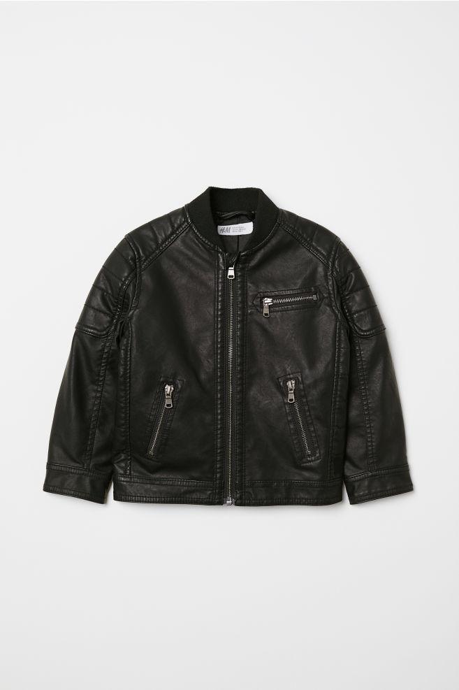 03aac2076b98 Biker Jacket - Black - Kids