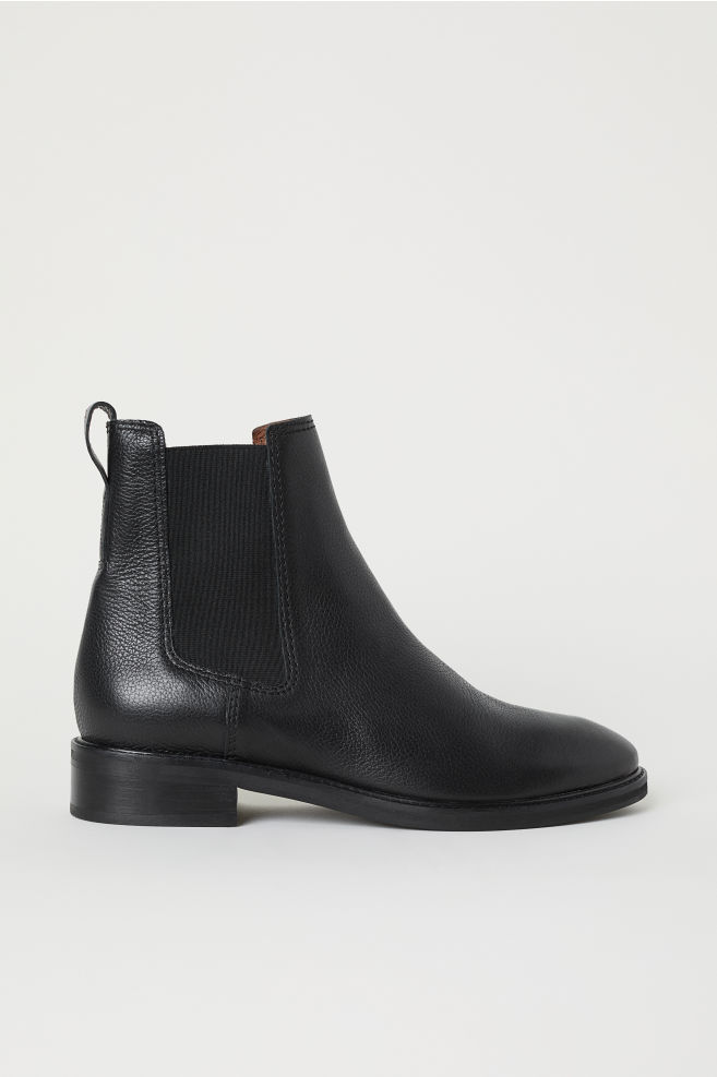 6013ed077b41 Leather Chelsea boots - Black - Ladies