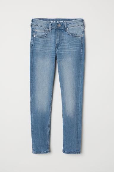 Superstretch Skinny Fit Jeans - Light denim blue - Kids | H&M GB