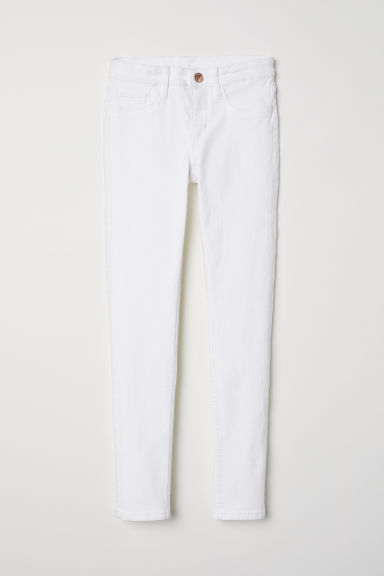 Superstretch Skinny Fit Jeans - Alb - COPII | H&M RO