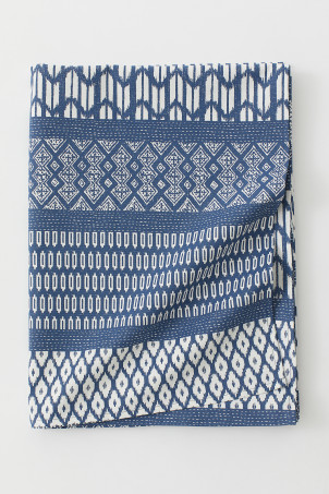 Patterned Cotton Tablecloth