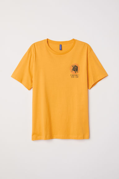 T-shirt con stampa - Giallo/rosa -  | H&M IT