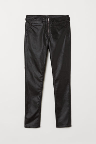 Skinny High Ankle Jeans - Black -  | H&M