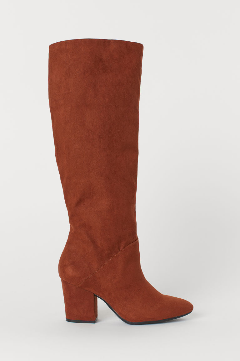Knee-high Boots - Brown - Ladies | H&M US