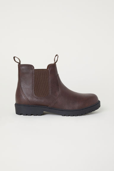Chelsea boots - Dark brown - Kids | H&M CN