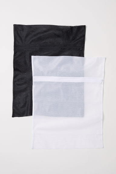2-pack washing bags - White - Ladies | H&M