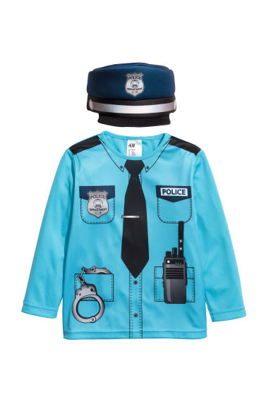 Fancy dress costume - Light blue/Police -  | H&M
