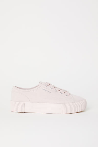 Platform trainers - Powder pink - Ladies | H&M