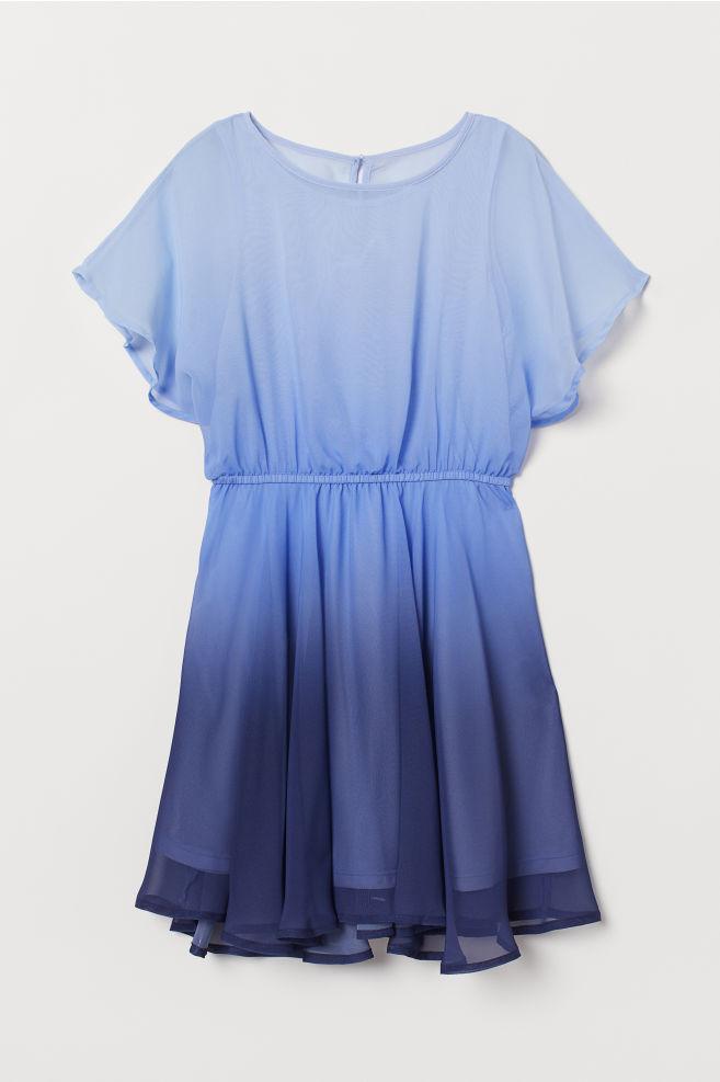 996df6192123 ... Skir klänning - Blå - BARN | H&M ...