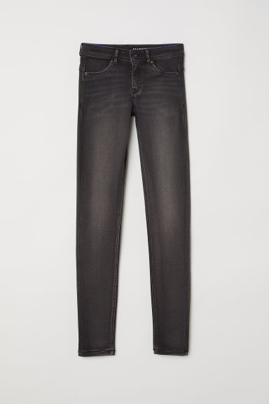 Super Soft Low Jeggings - Černý denim -  | H&M CZ