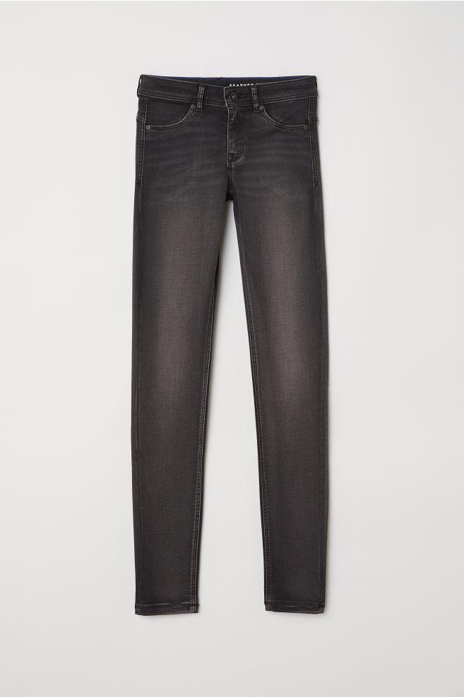 e3fe349c91e702 Super Soft Low Jeggings - Black denim - | H&M ...