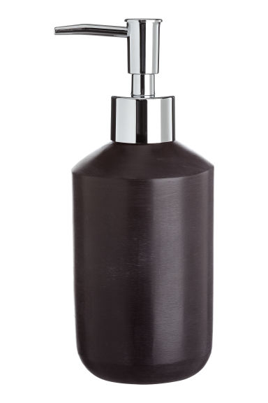 Imitation stone soap dispenser - Black -  | H&M IE