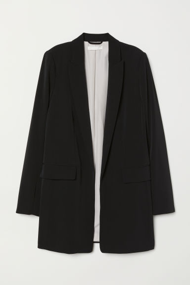 Long jacket - Black - Ladies | H&M CN
