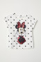 Gebroken wit/Minnie Mouse