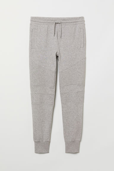Biker joggers - Grey marl - Men | H&M IE
