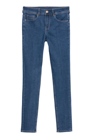 Super Skinny Jeans - Dark denim blue -  | H&M CN