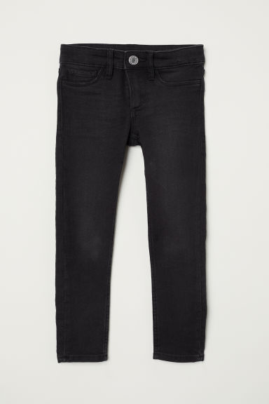 Superstretch Skinny Fit Jeans - Black denim - Kids | H&M CN