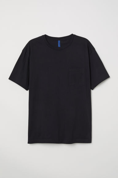 Wide T-shirt - Black - Men | H&M CN