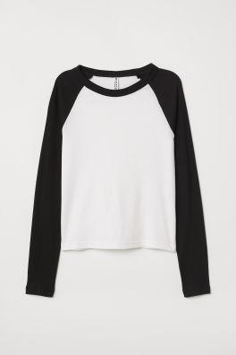 da3a34e3ea Women's Long Sleeve Tops - Shop fashion online | H&M GB
