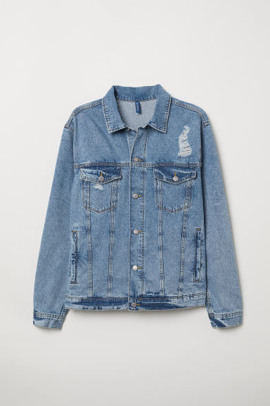 Denim jacket - Light blue denim -  | H&M