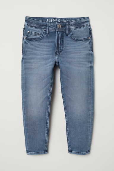 Super Soft Relaxed Jeans - Denim blue - Kids | H&M