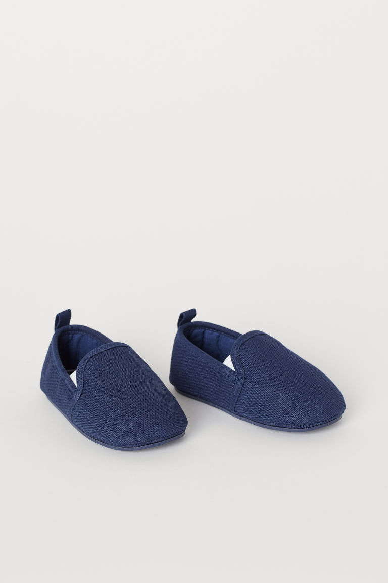 Slip-on shoes - Dark blue - Kids | H&M