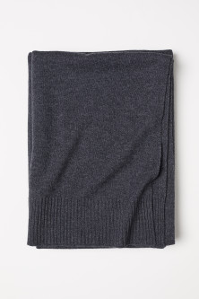 Cashmere-blend Throw