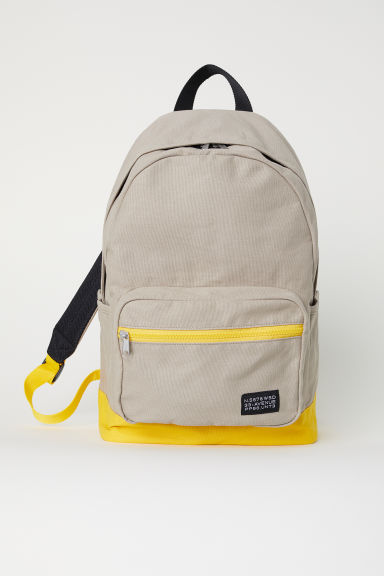Backpack - Beige/Yellow -  | H&M