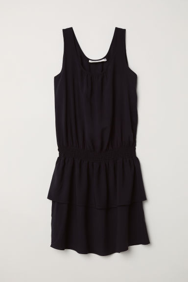 Sleeveless dress - Black - Ladies | H&M