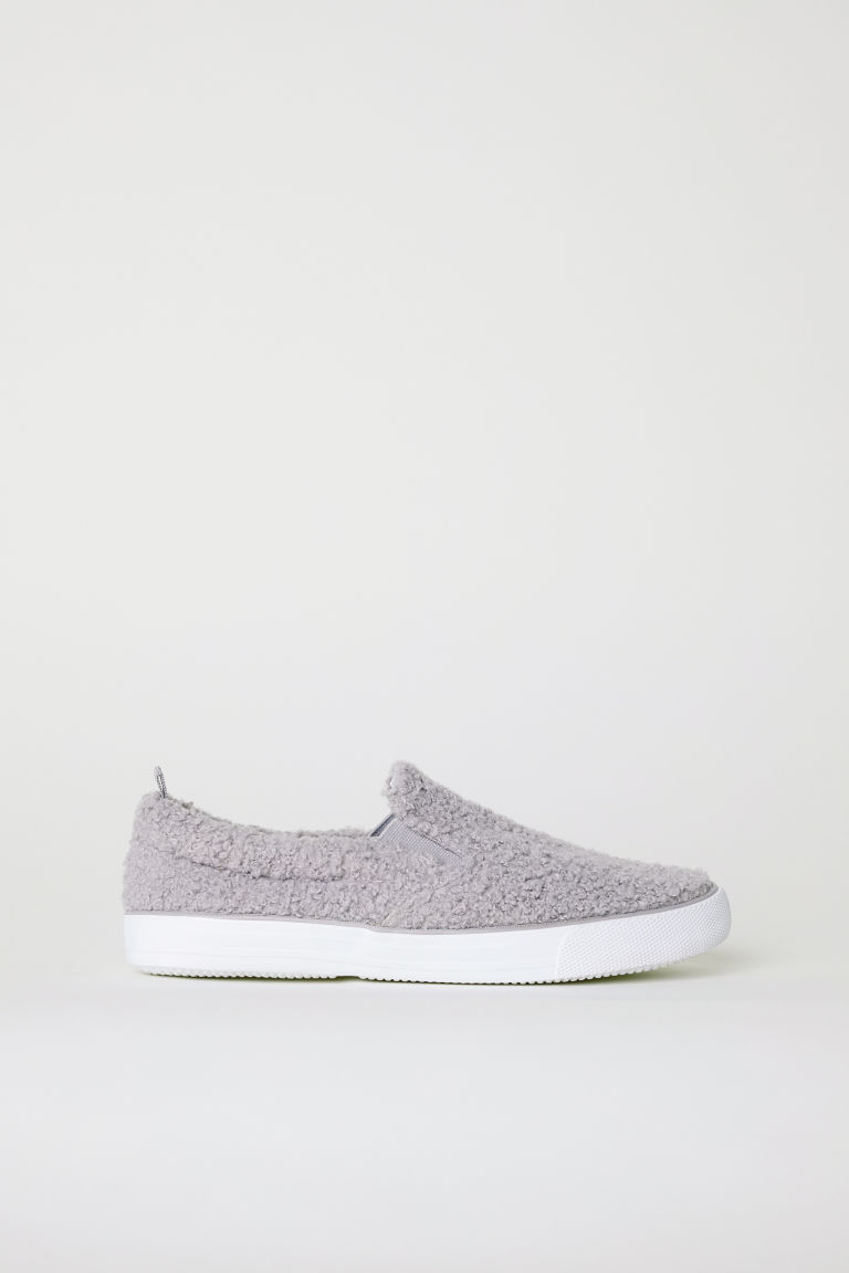 Slip-on trainers - Light grey - Kids | H&M