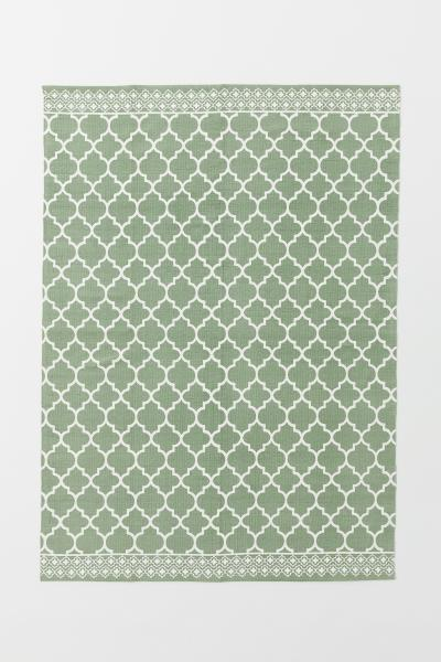H&M - Patterned cotton rug - 1