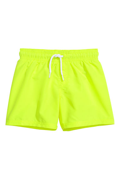 Swim shorts - Neon yellow - Kids | H&M