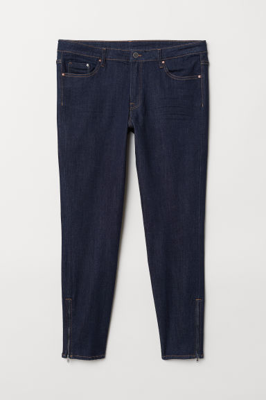 H&M+ Skinny Regular Jeans - Blu denim scuro - DONNA | H&M IT