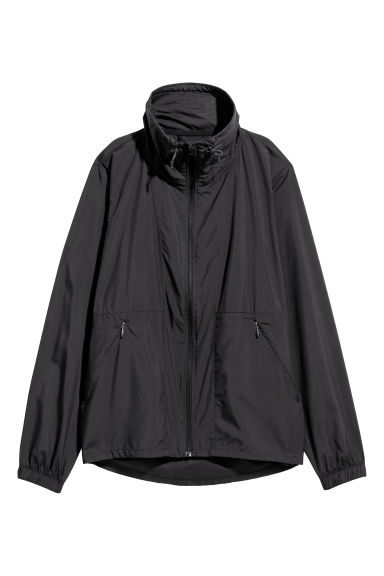 Windproof running jacket - Black - Ladies | H&M IE