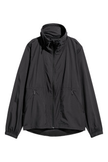 Windproof running jacketModel