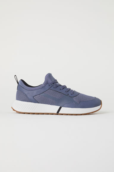 Mesh trainers - Steel blue - Men | H&M
