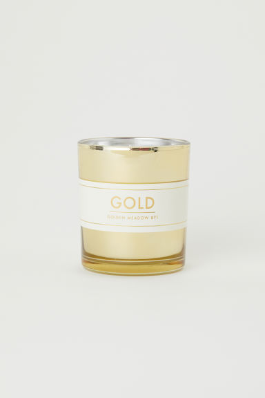 Candela profumata in vasetto - Dorato/Golden Meadow - HOME | H&M IT
