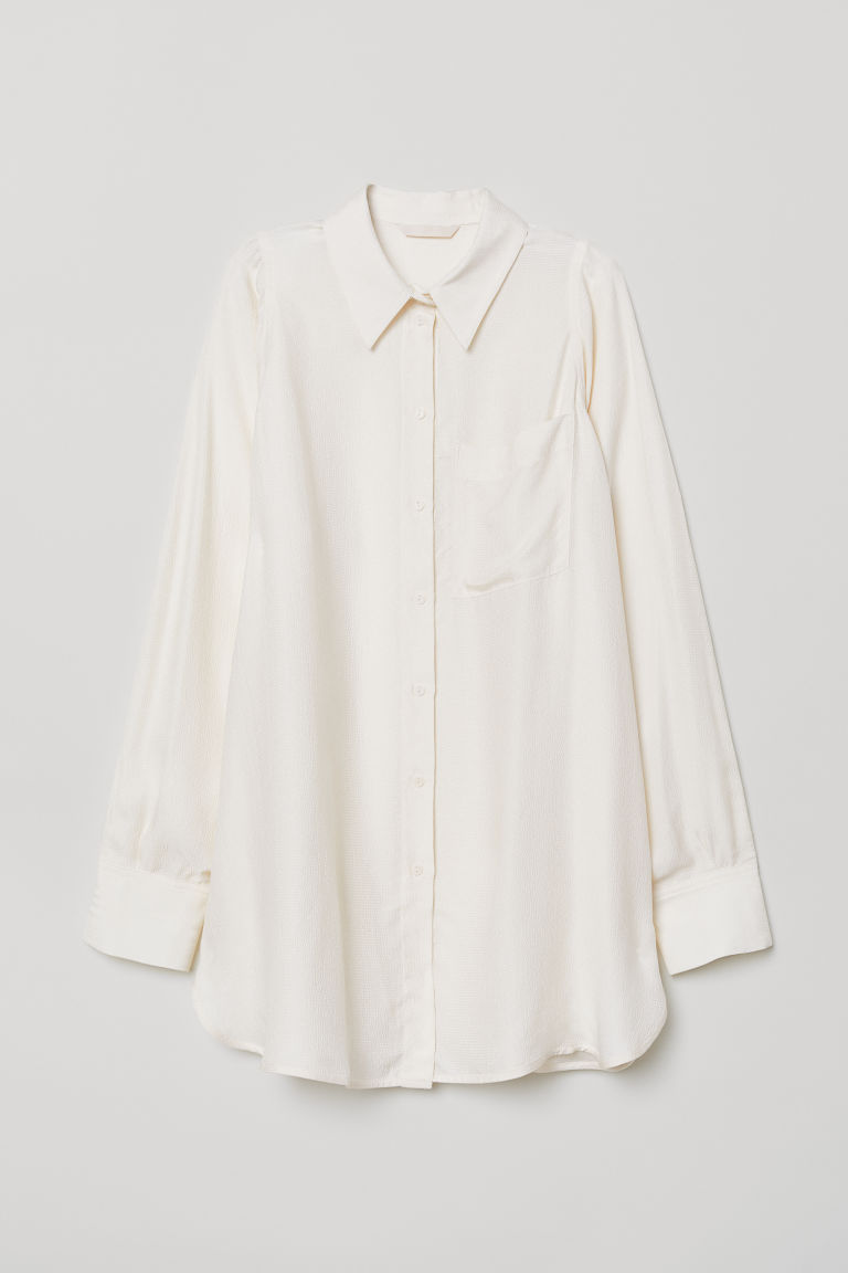 Viscose shirt - Cream - Ladies | H&M