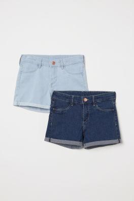 8ed2cca7bc Girls Shorts - 8-14+ years - Shop online | H&M GB