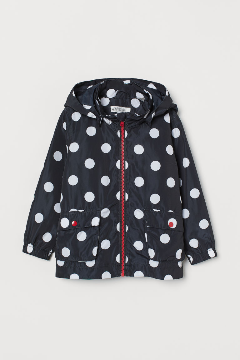 Hooded Jacket - Black/Minnie Mouse - Kids | H&M US